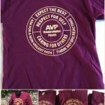 AVP Fundraising T-shirts